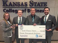 Kansas State Mba by K State Mba Students Take Second Place At The Big 12 Mba