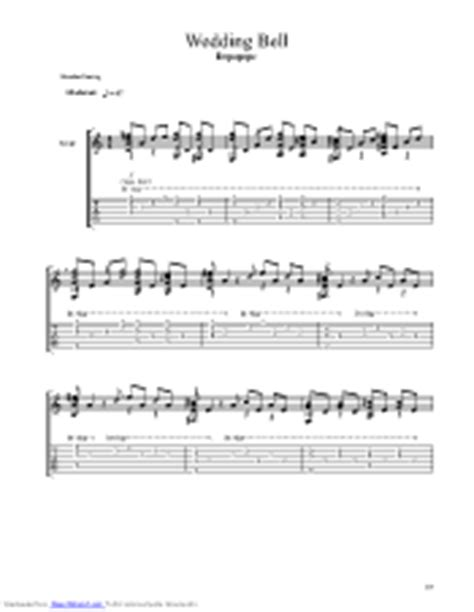 Wedding Bell Depapepe Tab Pdf by Wedding Bell Guitar Pro Tab By Depapepe Musicnoteslib