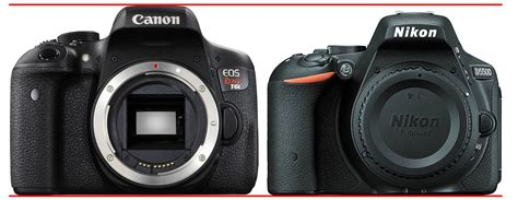 nikon rebel canon eos rebel t6i vs nikon d5500 davemclelland