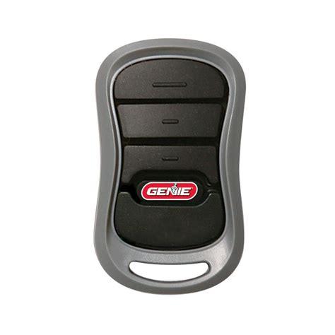 genie gt  intellicode  button remote works  genie