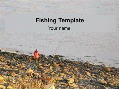 Fishing Powerpoint Template Fish Powerpoint Template