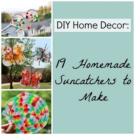 diy home decor crafts blog diy home decor 19 homemade suncatchers to make