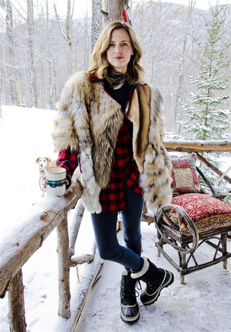 Fashion Newsletter Snow Chic by Guest Post The Kina S Snow Bunny Chic Paperblog