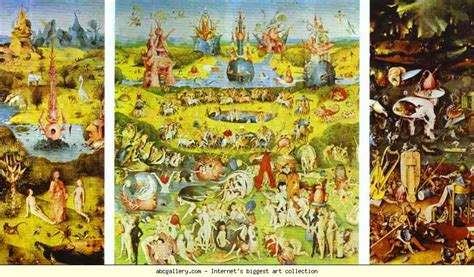 hieronymus bosch garden of earthly delights
