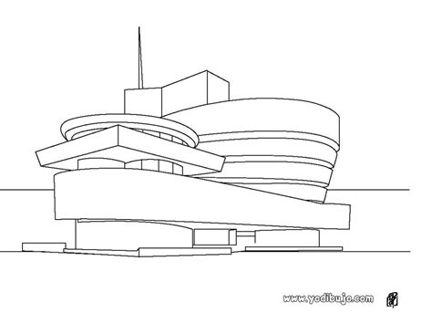 Lincoln Memorial Floor Plan dibujos para colorear museo guggenheim es hellokids com