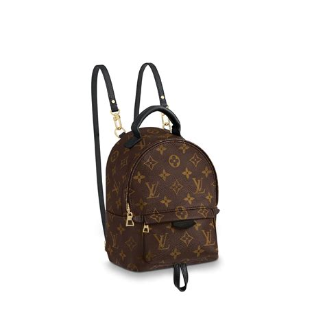 palm springs backpack mini monogram canvas handbags