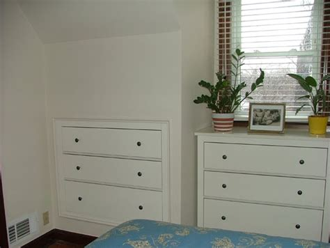 Drawers Built Into Wall by Space Saving Three Drawer Chest Inset Into Plasterboard