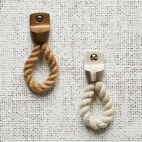 Jute Rope Knobs by 1000 Ideas About Nautical Drawer Pulls On