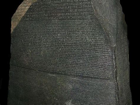 rosetta stone news interact with the first 3 d scan of the rosetta stone