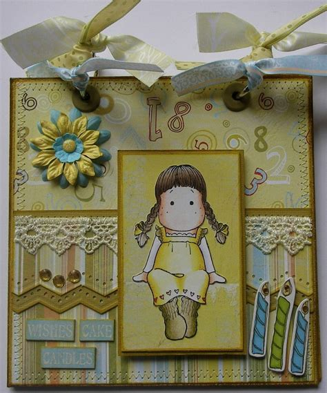 Handmade Scrapbook - ooak handmade birthday scrapbook photo memory