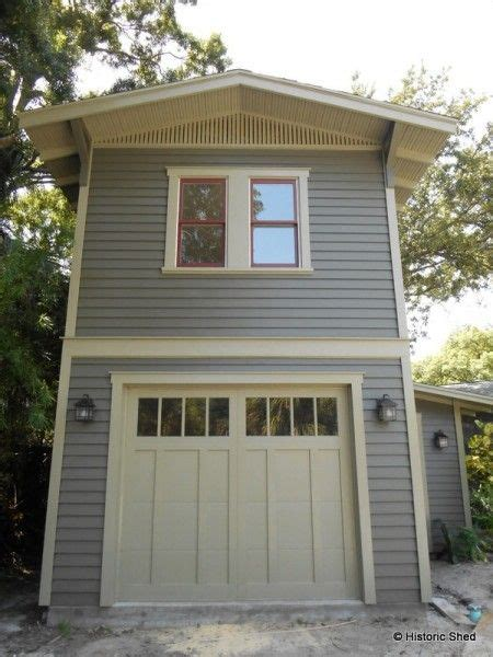 One Car Garage With Loft by Two Story One Car Garage Apartment Historic Shed