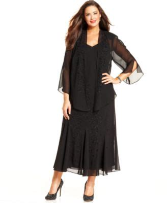 r m richards plus size beaded v neck dress and jacket site unavailable macy s