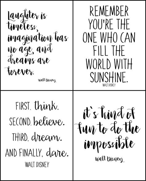 Free Printable Disney Quotes | 1064 best home printables images on pinterest free