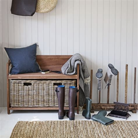 storage ideas  beautiful boot rooms ideal home