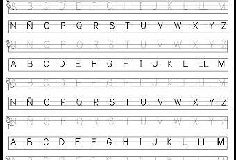 hojas para caligrafia pdf hoja para caligraf 237 a may 250 sculas paperblog