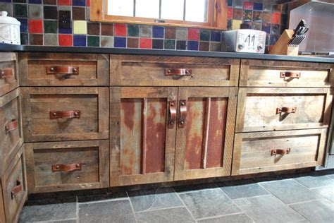 barn board kitchen cabinets barnwood kitchen for log home rustic kitchen other