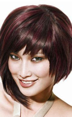 average cost for ladies hair cut and color red violet highlights on pinterest violet highlights