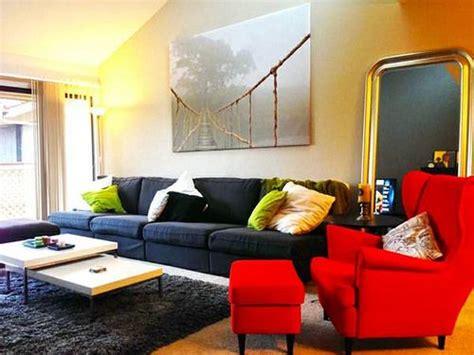 ikea strandmon sofa four ikea kivik armchairs connected to form a long sofa