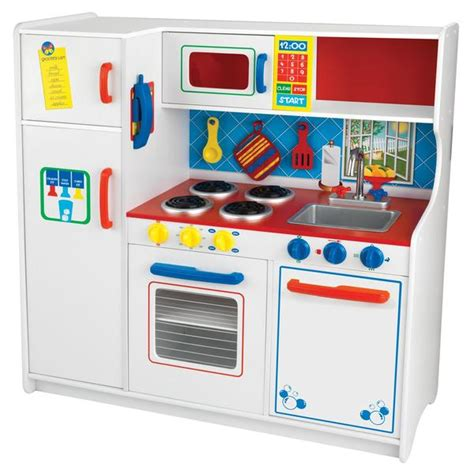Kmart Play Kitchen by Kidkraft Deluxe Let S Cook Kitchen Toys