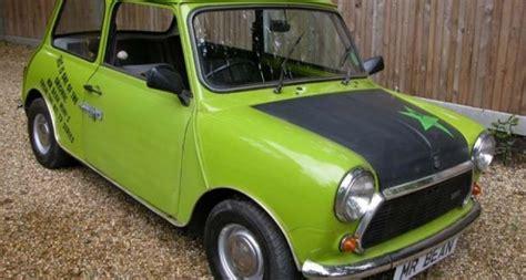 austin mini    bean car classic driver