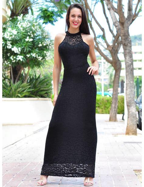 vestidor largos vestido largo negro vl257 vestidos