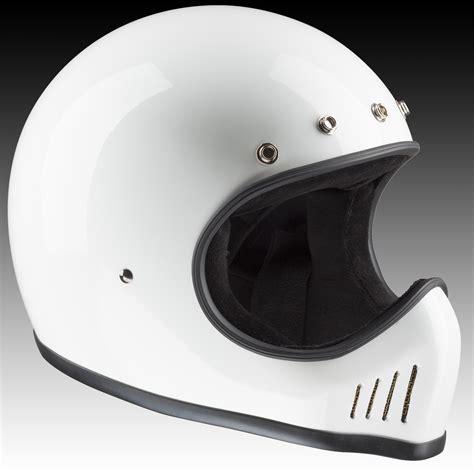 helm usa design bandit helmets motocross helmet historic design white