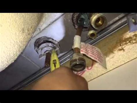 Removing An Old Kitchen Faucet Kitchen Interesting How To Replace Kitchen Faucet Ideas