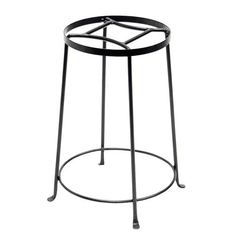Outdoor Planter Stands Wrought Iron shop achla designs argyle 18 in graphite indoor outdoor