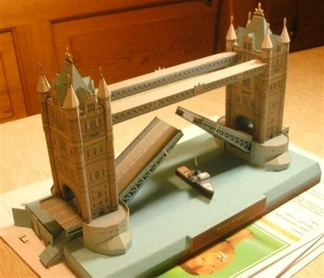 How To Make A Paper Bridge - 110 best images about models and recreations on