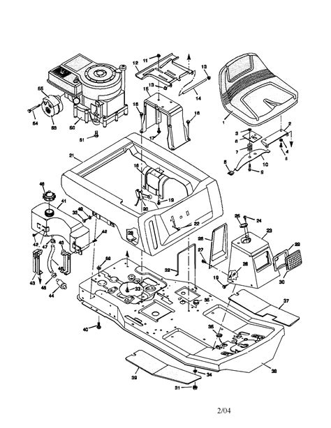 murray lawn mower parts diagram murray rear engine mower parts model 30560f