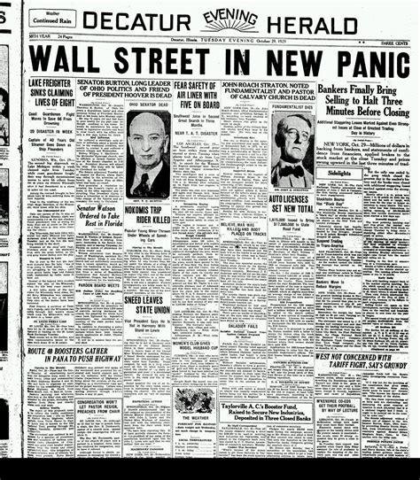 imagenes del jueves negro historia contempor 225 nea consecuencias de la crisis de 1929