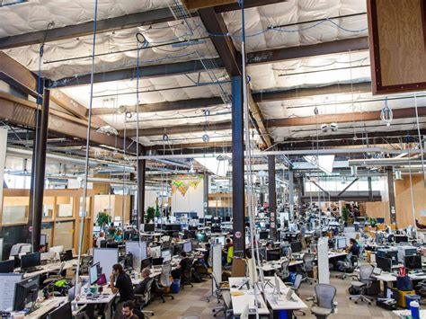 facebook offices facebook s new headquarters where open plan is king and