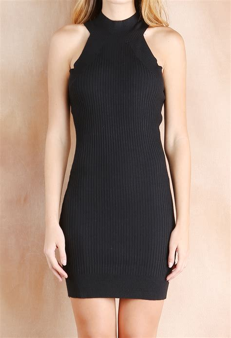 knit bodycon dress ribbed knit bodycon dress shop at papaya clothing