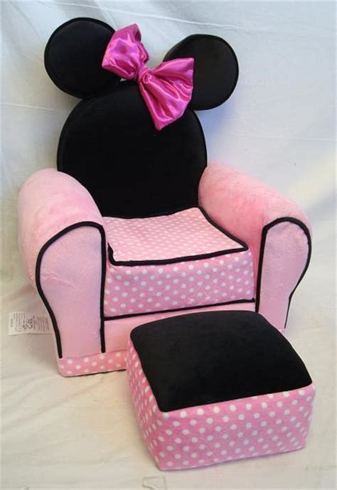 minnie mouse chair and ottoman disney minnie mouse chair and ottoman pink toddler chair
