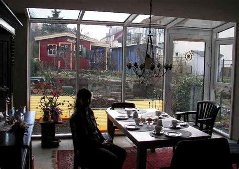 veranda reihenhaus wintergarten auf der nordseite ja planung
