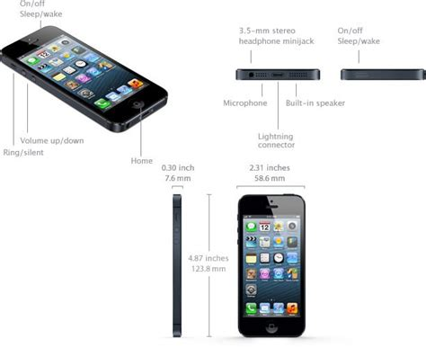 5 iphone specification iphone 5 specifications specs in detail imore