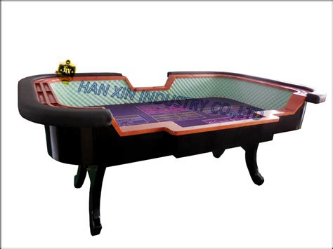 wholesale led craps big small table for