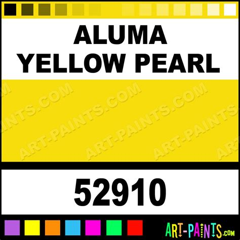 aluma yellow pearl car and truck stained glass and window paints inks and stains 52910