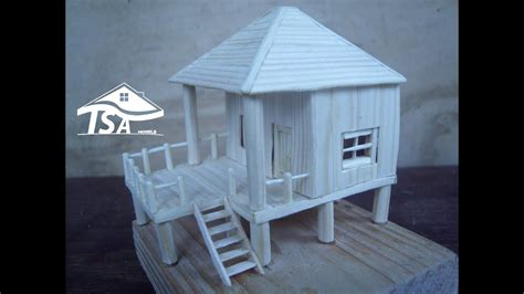 creating a house how to make a modern stilt type of house youtube