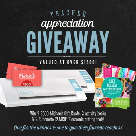 Free Giveaways For Teachers - teacher appreciation giveaway and gift ideas tatertots and jello