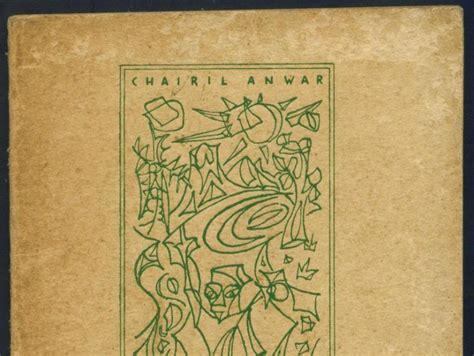 Jual Buku Puisi Penyair Terkenal Dunia by Koleksi Tempo Doeloe Buku Kuno Karangan Chairil Anwar