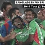 recorded coverage bangladesh vs sri lanka 2nd t20 bangladesh vs sri lanka 2nd t20 highlights video 2014