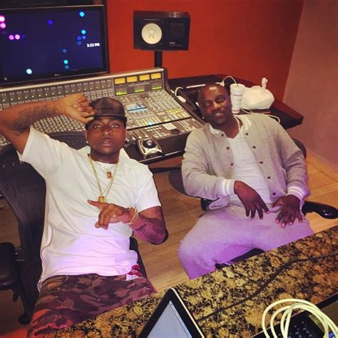 biography of nigerian artist davido davido spotted with hot mystery lady akon as they party