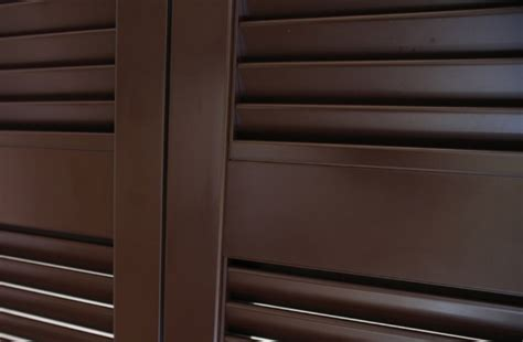 persiane di alluminio persiana in alluminio con lamelle fisse emme serramenti