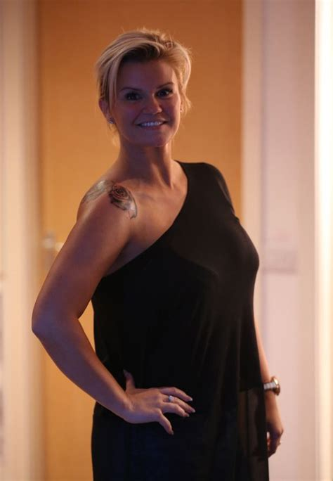 kerry katona tattoo on shoulder kerry katona and george kay get matching rose tattoos as a