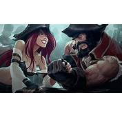Miss Fortune Vs Gangplank LoL Wallpaper 28671