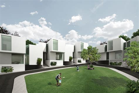 community housing lomas verdes housing community mexico city housing e architect