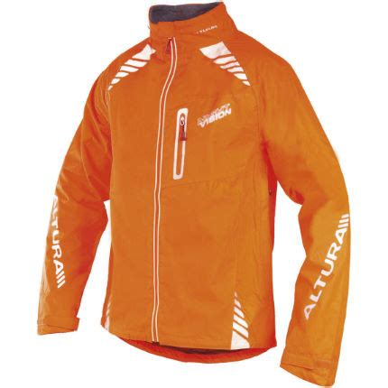 orange cycling jacket wiggle altura night vision jacket cycling waterproof