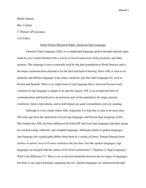 Library Research Paper Sle by Reserch Paper