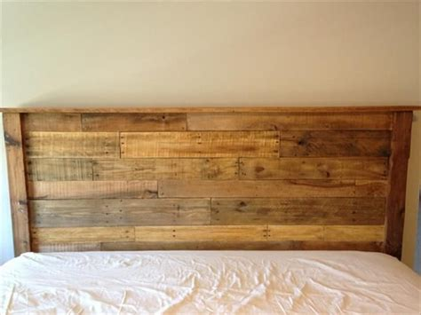 wood pallet headboard ideas google search pallet